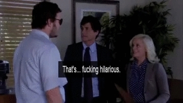pandr, I love Rob Lowe's reaction here so much :D (reddit) GIFs