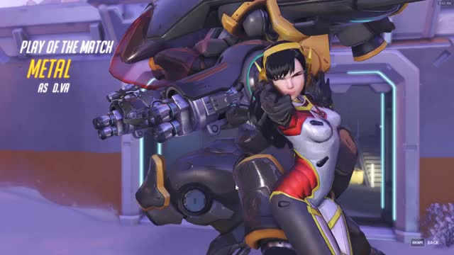 Watch and share Overwatch GIFs and Dva GIFs by cdn_metal on Gfycat