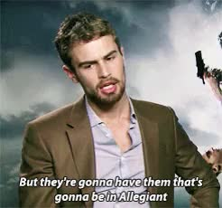 """Watch """"you matter because you exist"""" GIF on Gfycat. Discover more all, d*, divergentedit, mine, theo james, theoedit, theojamesedit, you're not funny at all GIFs on Gfycat"""