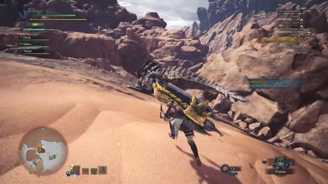 Vinesauce Playing Monster Hunter World - Twitch Clips