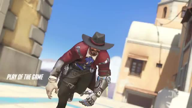 Watch pro  GIF by shirochan on Gfycat. Discover more ilios, lighthouse, mccree, overwatch GIFs on Gfycat