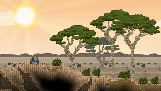 Watch Biome Diversity GIF by Chucklefish (@starbound) on Gfycat. Discover more starbound GIFs on Gfycat