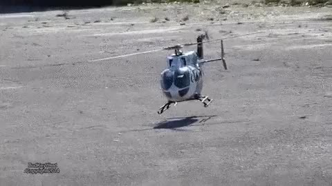 Watch and share A Gracefully Landing Helicopter. (x-post R/yesyesyesyesno) (reddit) GIFs on Gfycat