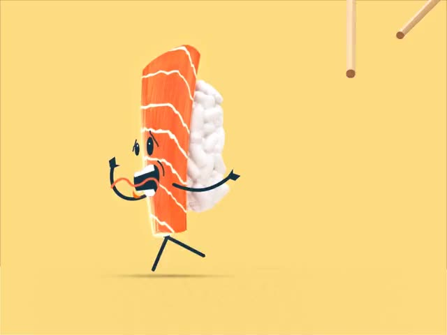 Watch this hurry GIF by GIF Queen (@ioanna) on Gfycat. Discover more afraid, can, catch, chopstick, food, hurry, hurry up, if, me, run, scared, sushi, you GIFs on Gfycat