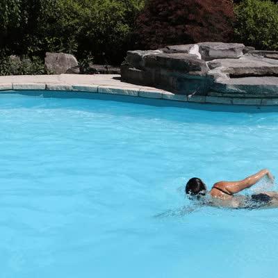 will swimming tone my body
