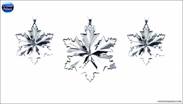 Watch and share Swarovski Christmas Ornament Set 2014 GIFs on Gfycat