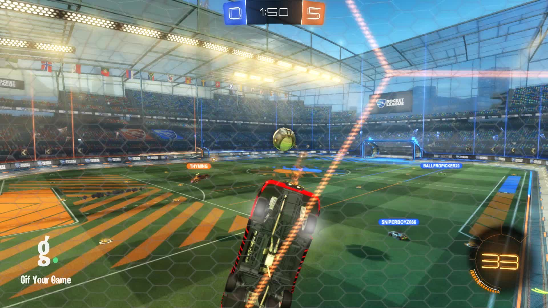 Gif Your Game, GifYourGame, Goal, Rocket League, RocketLeague, datboi, Goal 6: datboi GIFs
