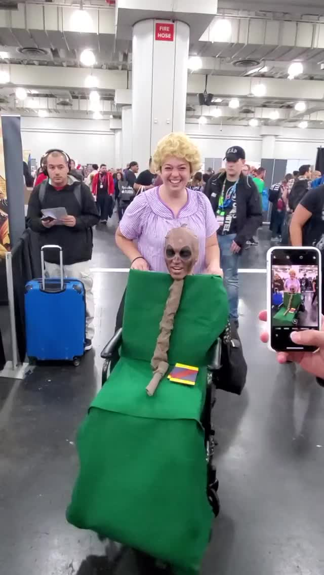 Watch and share Stealing The Show At NYCC. GIFs by MyNameGifOreilly on Gfycat