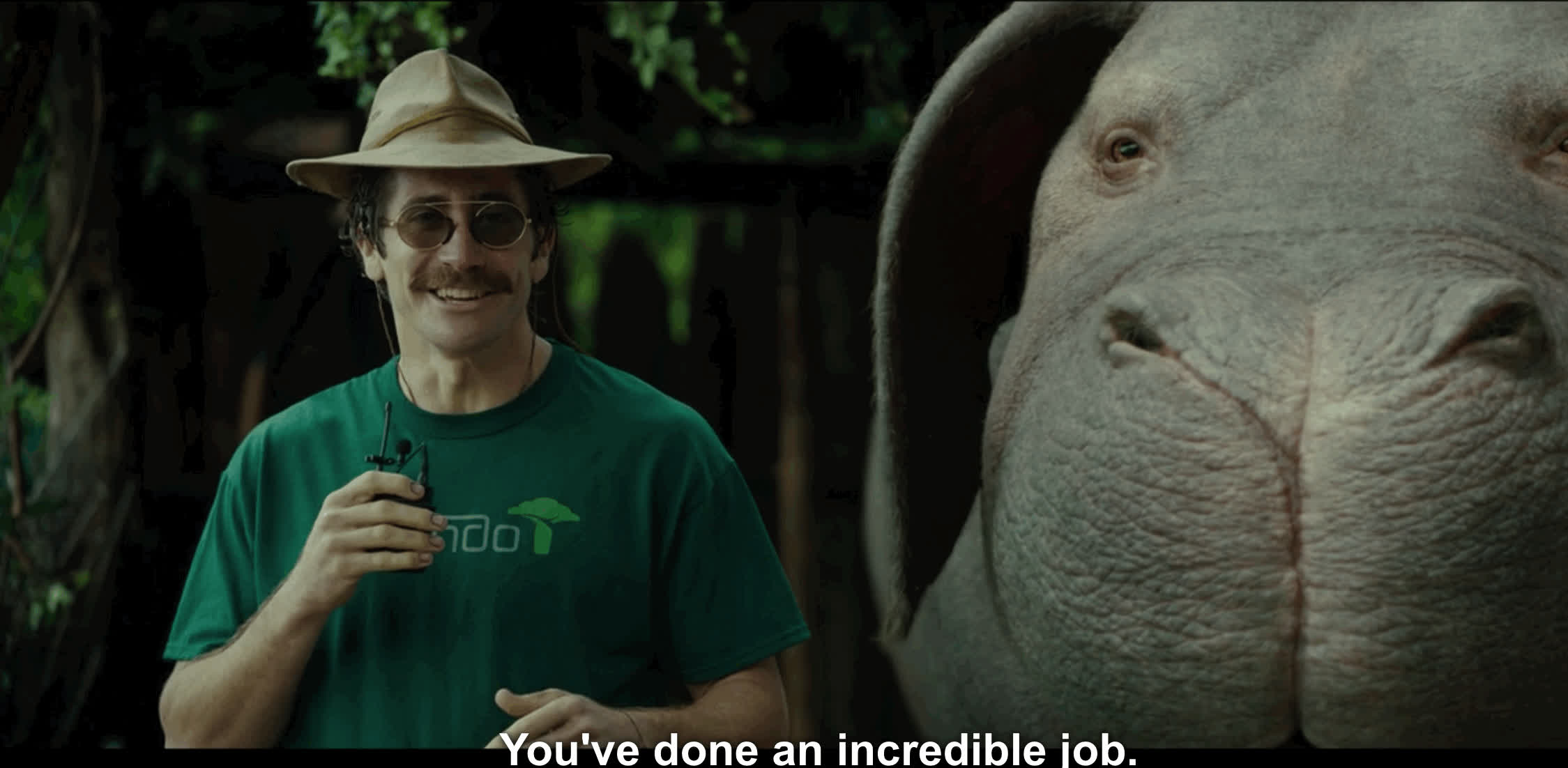 Jake Gyllenhaal, Okja, You've done an incredible job! GIFs