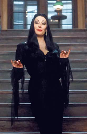 Watch and share The Addams Family GIFs and Anjelica Huston GIFs on Gfycat