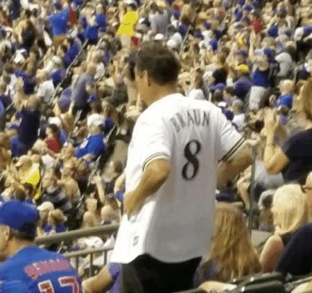 Braun, brewers, Enthusiastic Home Run. GIFs