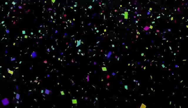 Watch and share Free Looping Video Background Of Confetti For New Years GIFs on Gfycat