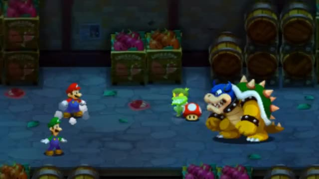 Watch and share Mario & Luigi Fight Popple & Rookie GIFs on Gfycat