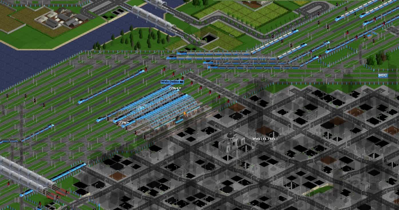 openttd, Jeżdzące pociągi w Openttd GIFs