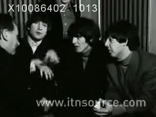 Watch beatles GIF on Gfycat. Discover more 1965, Beatles, John, Lennon, McCartney, Paul, The, interview GIFs on Gfycat