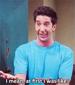 Watch mine friends F.R.I.E.N.D.S ross geller David Schwimmer GIF on Gfycat. Discover more david schwimmer GIFs on Gfycat