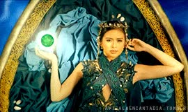 "Watch avisalaencantadia: "" The Four Sang'gres showing their gems and powers in GMA7′s Bubuhos ang PaGMAmahal show offerings omnibus ad "" GIF on Gfycat. Discover more related GIFs on Gfycat"