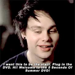 Watch this GIF on Gfycat. Discover more 5 seconds of summer, michael clifford GIFs on Gfycat