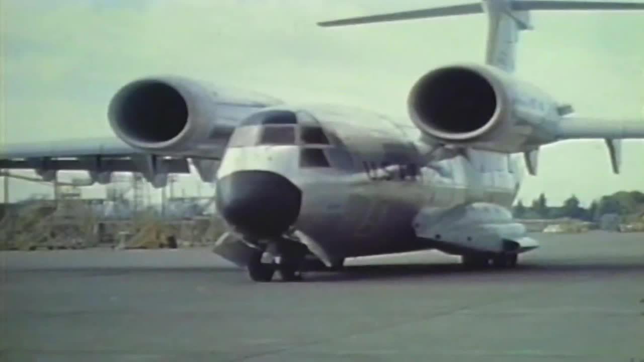 WeirdWings, militarygfys, YC-14 GIFs