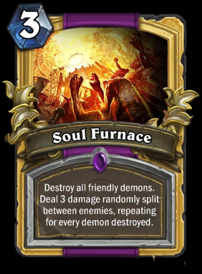 customhearthstone, hearthstone, Soul Furnace GIFs