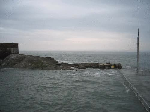 Watch and share High Tide Ilfracombe GIFs on Gfycat