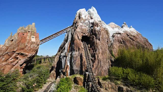 Watch and share Expedition Everest - Legend Of The Forbidden Mountain GIFs on Gfycat