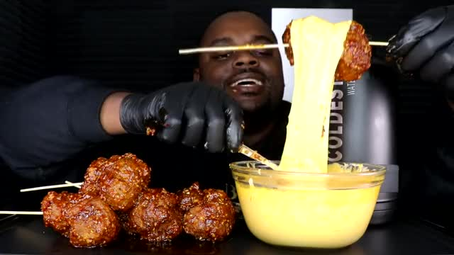 Watch CHEESY SPICY KOREAN MEATBALLS MUKBANG | BEAST MODE GIF on Gfycat. Discover more BEAST MODE, CHEESY SPICY KOREAN MEATBALLS, KOREAN, cheesy, eating, eating show, meatballs, mukbang, social eating, 먹방 GIFs on Gfycat