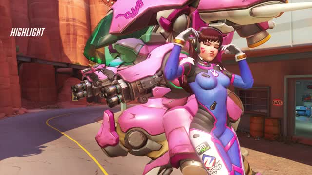 Watch and share Dva 3k Bomb On Platform - Route 66 GIFs by hppavilionf1 on Gfycat