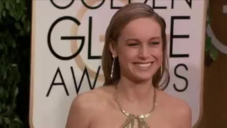 Watch this brie larson GIF on Gfycat. Discover more brie larson, celebs, golden globes GIFs on Gfycat