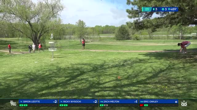 2019 GBO | MEN2 | R1F9 |Ricky Wysocki hole 3 putt - Create, Discover and  Share Awesome GIFs on Gfycat