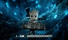 Watch and share Real Groot Baby Groot GIFs on Gfycat