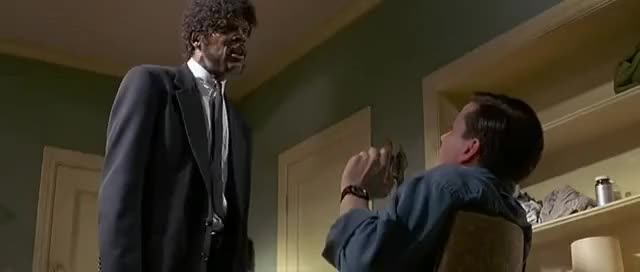 Watch and share Pulp Fiction - Ezequiel 25:17 GIFs on Gfycat
