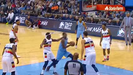 Watch and share Jaren Jackson Jr. — Memphis Grizzlies GIFs by Off-Hand on Gfycat