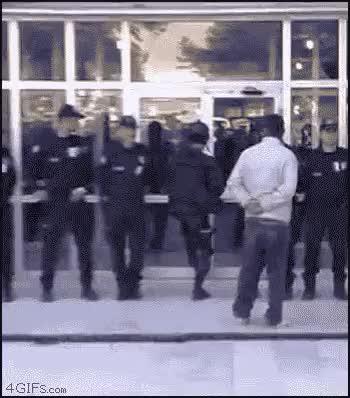 Watch and share Open Sesame Open Sesame Kick The Door,swat,police,open Sesame,open Door (reddit) GIFs by rafa on Gfycat