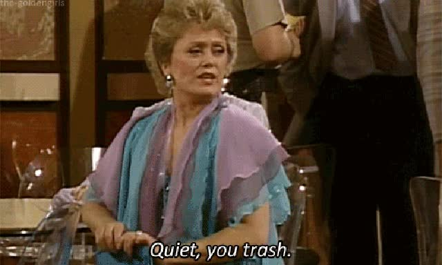 Watch Throw These Things Away Right Now | Sapling.com GIF on Gfycat. Discover more rue mcclanahan GIFs on Gfycat