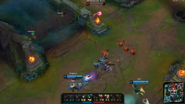 Watch and share Ap Ez Jhin Assassination Through Barrier Heal Flash And Nami GIFs by flotsa on Gfycat