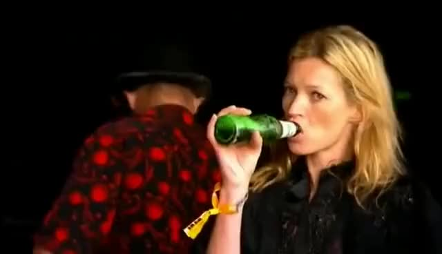 Watch and share Kate Moss GIFs and Drinking GIFs on Gfycat
