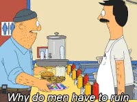 Watch and share Bobs Burgers, Men GIFs on Gfycat