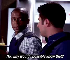 Watch and share Shawn Spencer GIFs and Burton Guster GIFs on Gfycat