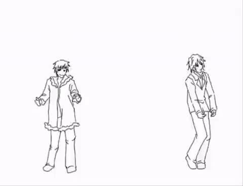 Watch Izaya&Shizuo GIF on Gfycat. Discover more Durarara, Izaya, Matryoshka, Shizuo, dance GIFs on Gfycat