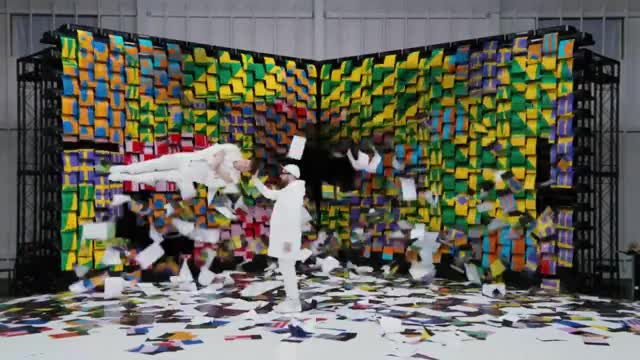 Watch the boys GIF by OK Go (@okgo) on Gfycat. Discover more OK Go, concerts, greenpeace, live, music, obsession, official, paper, printer, video GIFs on Gfycat
