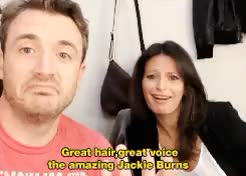 Watch and share Jackie Burns GIFs and James Snyder GIFs on Gfycat