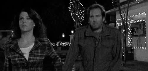 Watch and share Gilmore Girls Lorelai Smell Snow GIFs on Gfycat
