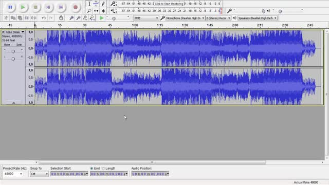 Watch Audacity, Finding starting point GIF by @croofe on Gfycat. Discover more related GIFs on Gfycat