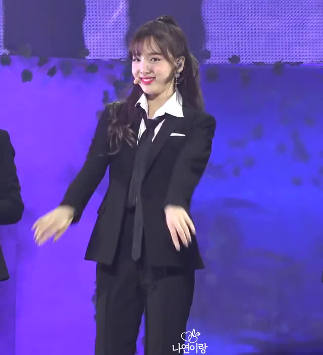Watch and share Cutie Nayeon In Suit GIFs by Ahrigato on Gfycat