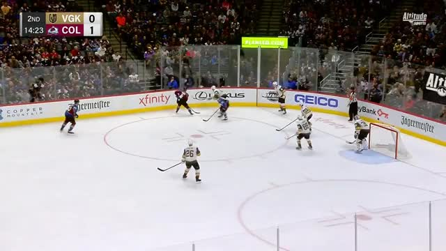 Watch Agozzino with his first NHL goal, Landeskog hits 400 points as an Avalanche GIF by Beep Boop (@hockeyrobotthing) on Gfycat. Discover more Colorado Avalanche, Vegas Golden Knights, hockey GIFs on Gfycat