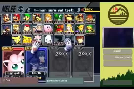Humboldt Spring Preview SSBM | JD Dark vs Bartholemew Jones GIFs