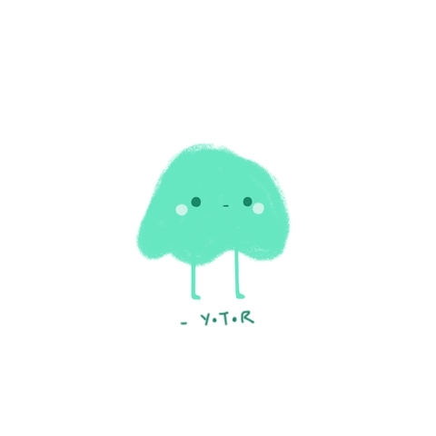 :3, Illustration, Y.T.R, Yoyo The Ricecorpse, animation, artist on tumblr, blobs, colourful, cute, digital, doodle, fantasy, gif, kawaii, loop, pastel, yo yo GIFs