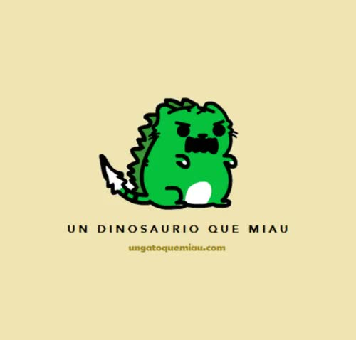 Watch cat, dinosaur, meow, rawr GIF on Gfycat. Discover more related GIFs on Gfycat
