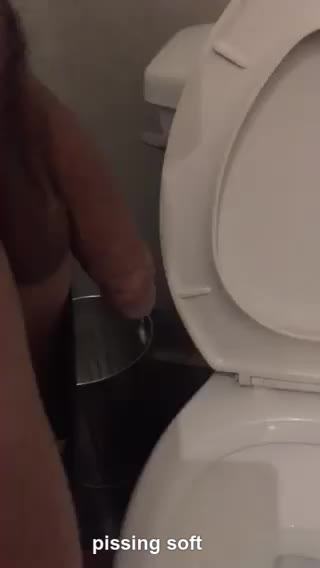 pissing soft
